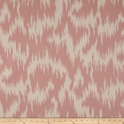 Duralee Andy Velvet Ikat Blush Fabric