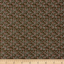 Windsor Park Daisy Brown/Pink Fabric