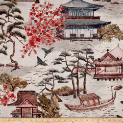 14 Karat Home Zen Poppy Fabric