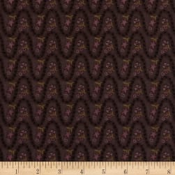 Itty Bitty Wavy Stripe Purple Fabric