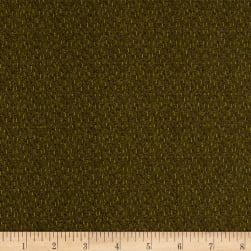 Itty Bitty Dash Texture Olive Fabric