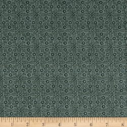 Itty Bitty Star Tiles Slate Fabric