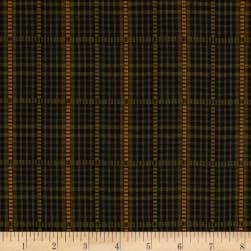 Itty Bitty Yarn Dye Dobbie Plaid Black Fabric
