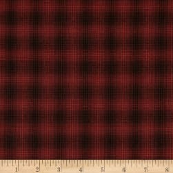 Itty Bitty Yarn Dye Small Plaid Red Fabric