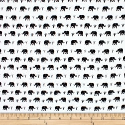 Telio Colorado Poly Faille Elephant Ecru/Black Fabric