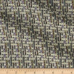 Telio Vincent Tweed Ecru Fabric