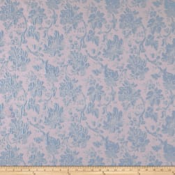 Telio Jasmeen Jacquard Floral Baby Pink/Blue Fabric