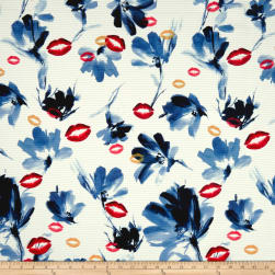 Printed Denim Fabric | Fabric com