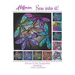 Hoffman Dance Of The Dragonflies Quilt Kit Multi