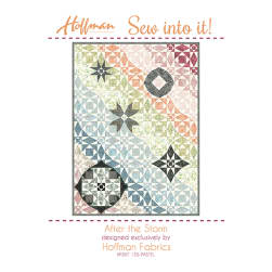 Hoffman After The Storm Kit Metallic Pastel Fabric