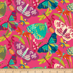 Butterfly Dance Butterfly Dance Pink Fabric