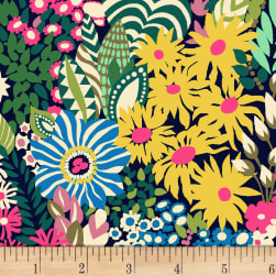 Butterfly Dance Floral Dance Multi Fabric