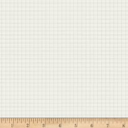 Jot Graph Paper Bachelor Button Fabric