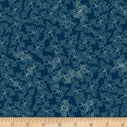 Night Hike Evergreens Lake Fabric