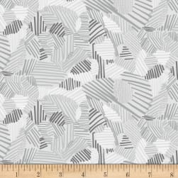 Night Hike Lines Gravel Fabric