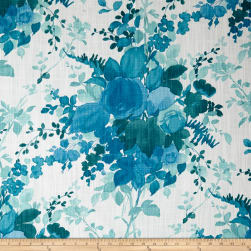 Duralee Olivia Blue Fabric