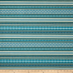 Duralee Brower Jacquard Blue/Turquoise Fabric