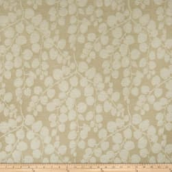 Duralee Elyse Chenille Jacquard Bisque Fabric