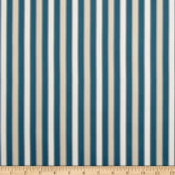 Duralee Outdoor DW16301 Stripe Seaglass Twill Fabric