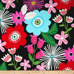 Alexander Henry Fresh Canvas Black/Bright Fabric