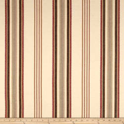 Laura & Kiran Casablanca Stripe Natural Fabric