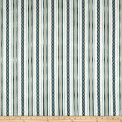 Laura & Kiran Zagreb Southwest Stripe Blue Fabric