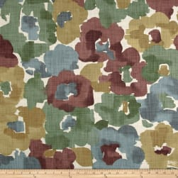Robert Allen @ Home Flower Storm Aloe Fabric