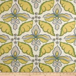 Robert Allen @ Home Painted Damask Leaf Fabric