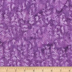 Anthology Batik Vines Violet Fabric