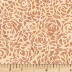 Anthology Batiks Abstract Rose 108