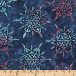 Anthology Batiks Sparkle Navy