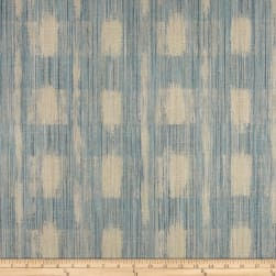 Duralee Sophia Check Blue Fabric