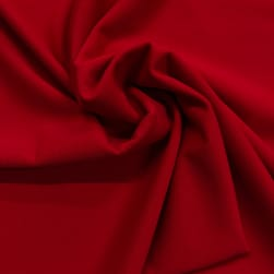 Pine Crest Fabrics Matte Tricot Guards Red Fabric