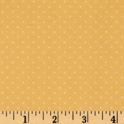 Andover Bijoux Square Dot Fresh Apricot Fabric