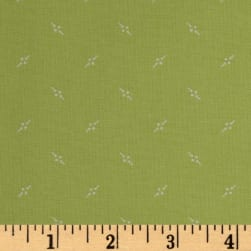 Andover Bijoux Pennant Asparagus Fabric