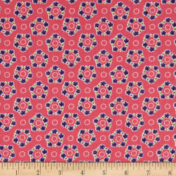 Andover/Makower Katie Jane Garland Pink Fabric