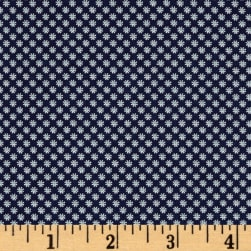Andover/Makower Katie Jane Daisy Blue Fabric