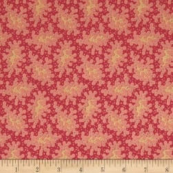 Andover Maling Road Lace Red Fabric
