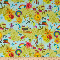 Andover Remix Favorites sunny Fabric