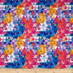 Andover Remix Geometry Sunset Fabric