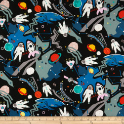 Alexander Henry Outer Space Black