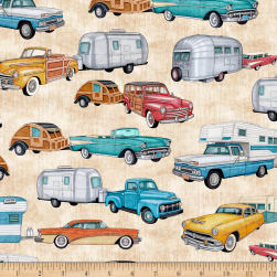 QT Fabrics Dan Morris Backcountry RVs Cream