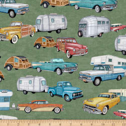 QT Fabrics Dan Morris Backcountry RVs Green Fabric