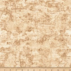 QT Fabrics Dan Morris Backcountry Map Light Tan