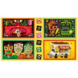 QT Fabrics Hot Tamale Large Foodie Patches 24