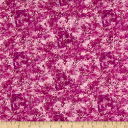 Boho Owl Splotch Purple Fabric