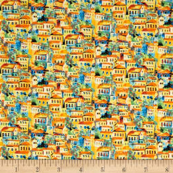 Fabri-Quilt Portofino Village Multi Fabric