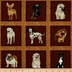My Pet Family Puppy Pictures Tan/Multi Fabric