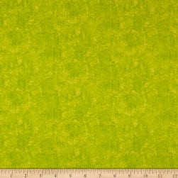 Frolicking Fields Parched Ground Blender Lime Fabric