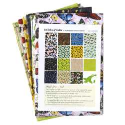 Frolicking Fields Fat Quarters 17 Pcs. Multi Fabric